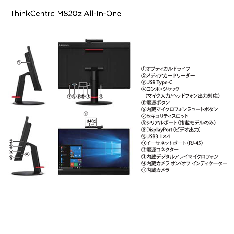 ThinkCentre M820z All-In-One