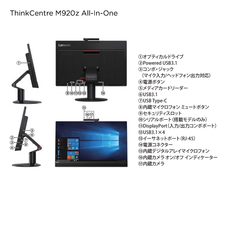 ThinkCentre M920z All-In-One